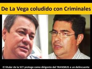 De La Vega coludido con Criminales