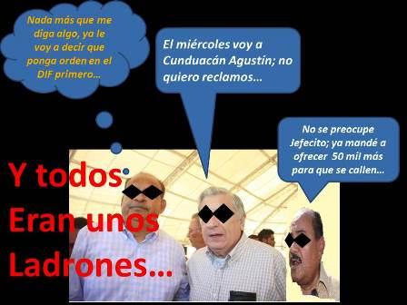 #ElCartelDeLaDenuncia #LadronesDeCuelloBlanco