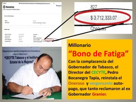 """Regresan """"Bonos de Fatiga""""; los consiente ArturoNúñez"""