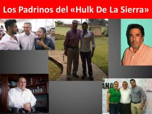 Los Padrinos del «Hulk De La Sierra
