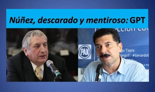Arturo, descarado y mentiroso:PAN
