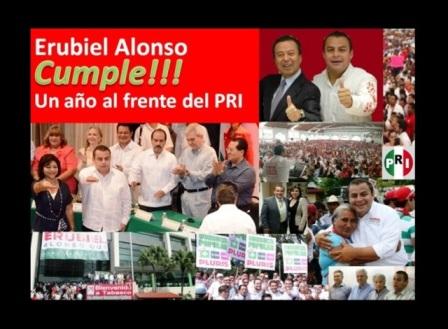Ajusta un año @Erubiel_Alonso_ al frente delPRI