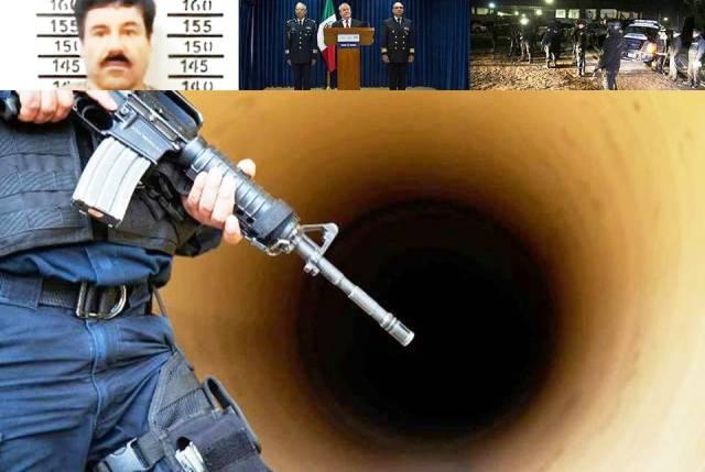 Difunden imágenes del drenaje por donde salió 'El Chapo'#LaFugaDelChapo
