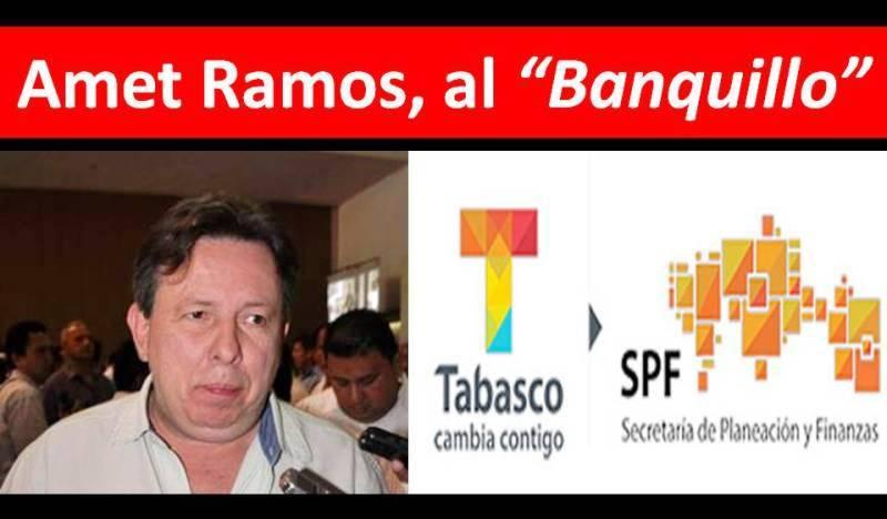"""AMET RAMOS, el Secretario que gasta millones y  millones de pesos en """"Aviadores"""" y """"Bonos deFatiga"""""""