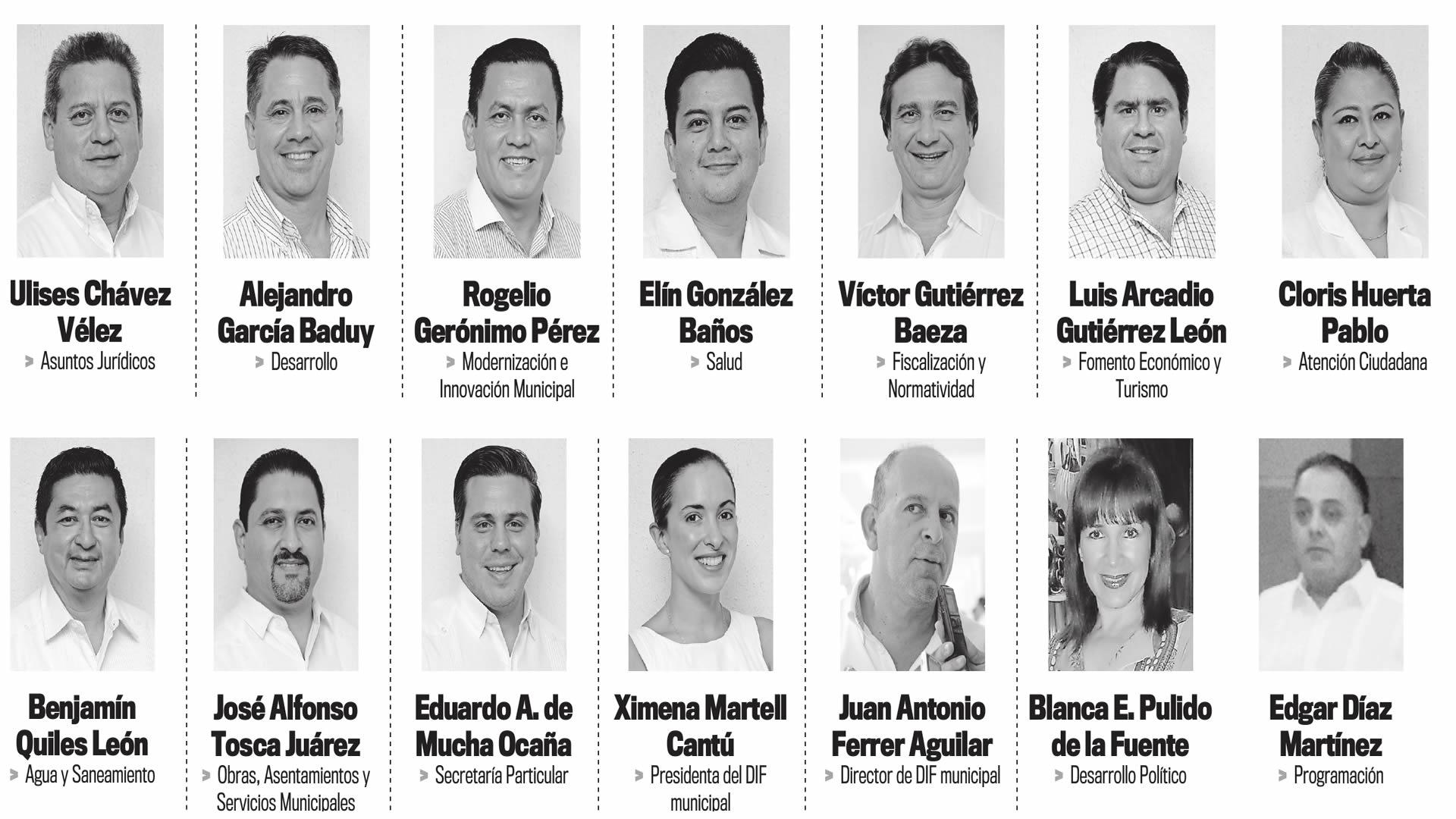 Presenta Gerardo Gaudiano su gabinete para la alcaldía de Centro ...