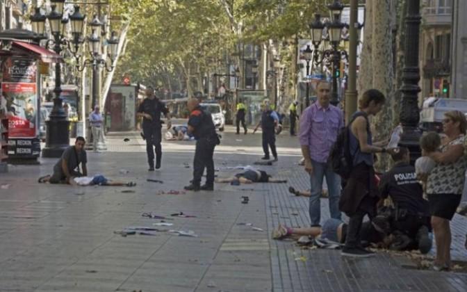 Matanza en el Centro de Barcelona