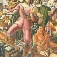El misterio de un iPhone en una pintura de 1937