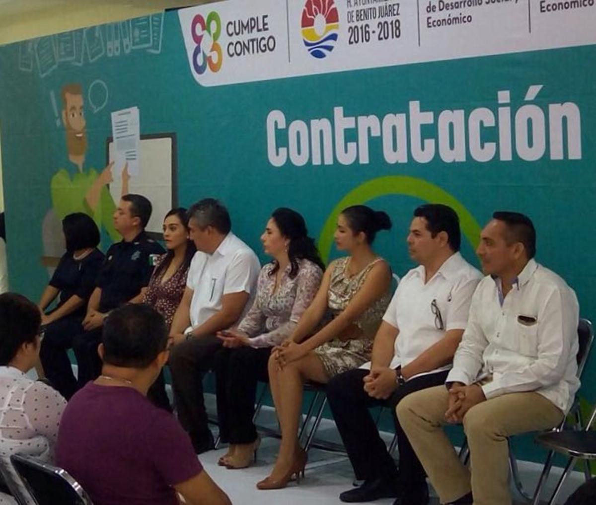 """#Cancun    REALIZARÁ GOBIERNO MUNICIPAL """"CONTRATACIÓN EXPRÉS"""" @rembertoestrada"""