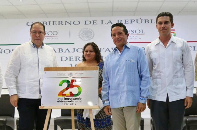 #Cancun || COMBATIR LA POBREZA ES ESENCIAL PARA TENER UN MEJOR PAÍS; REMBERTO ESTRADA @rembertoestrada