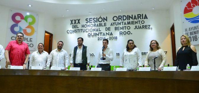 #Cancun    CELEBRA CABILDO TRIGÉSIMA SESIÓN EN BENITO JUÁREZ @rembertoestrada