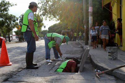 #Cancun    EN TIEMPO Y FORMA 413 MDP EN OBRAS PÚBLICAS PARA EL BIENESTAR DE LOS CANCUNENSES @rembertoestrada