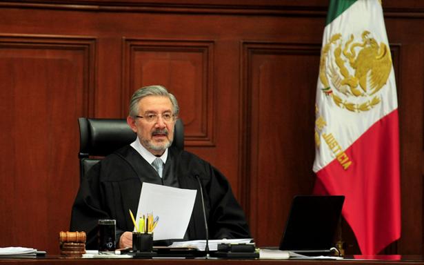 No es tarea del Poder Judicial mejorar la seguridad: presidente de la SCJN