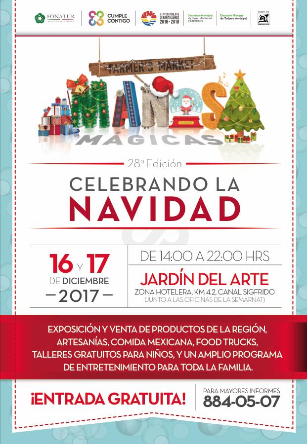 "#Cancun    INVITA GOBIERNO MUNICIPAL A EDICIÓN DECEMBRINA DE ""MANOS MÁGICAS"" @rembertoestrada"