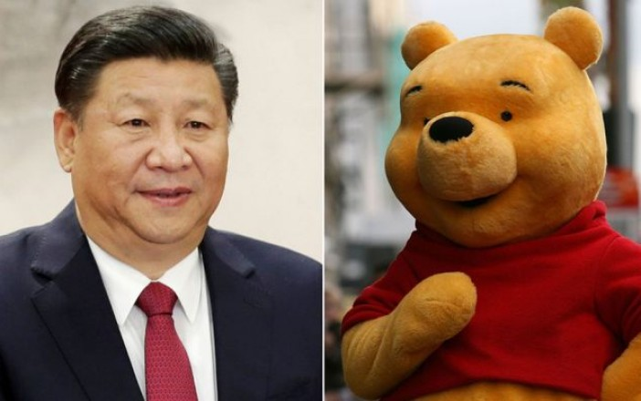 #Internacional// Prohíbe China filme de Pooh, ¡se parece al presidente!