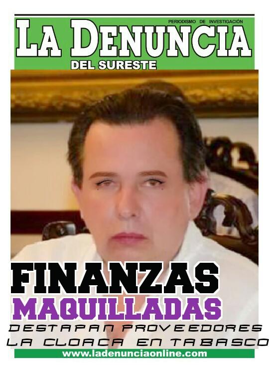 #TABASCO: FINANZAS MAQUILLADAS