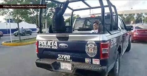 #Alerta // Periodista y defensor de                  #DerechosHumanos es víctima de #DesapariciónForzada y torturado por policías municipales en#QuintanaRoo