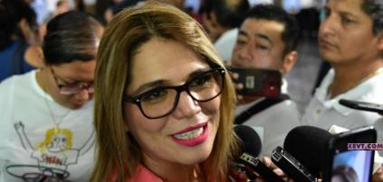Lamenta @Katiornelas descalificaciones de @manuelandrade65  sobre renovación de la dirigencia estatal del#PRI