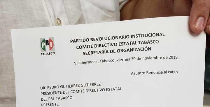 #Entérate // @Lara_Sedas y @Katiornelas harán fórmula para buscar la dirigencia estatal del@PRITabasco