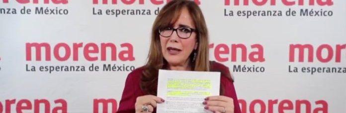 #Morena // Niega @yeidckol  'tirar' Congreso Nacional; convocatoria viola estatutos,afirma